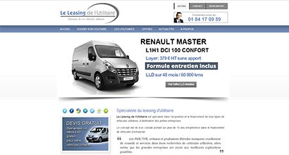leleasingdelutilitaire.fr, leasing de véhicules utilitaires