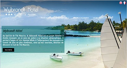wybrandt-hotel.com, projet hotelier
